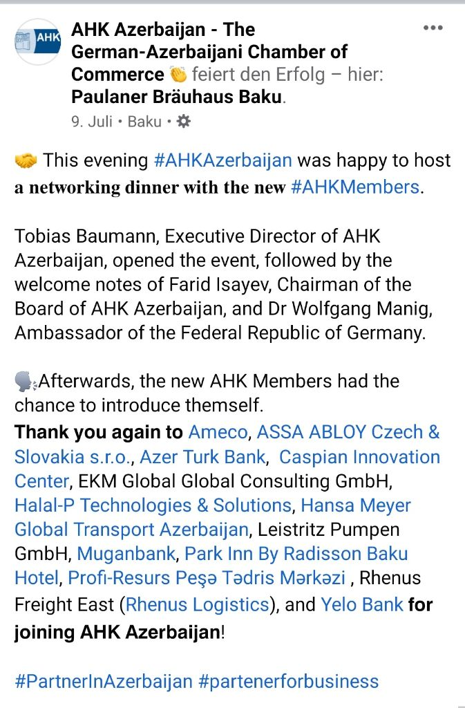 """All for the sake of oil? Ines Berger: Azerbaijani gas, multiple sector-clusterfuck & dubious """"logistics"""" companies"""